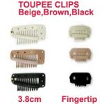Toupee Clips from The Individual Wig Accessories